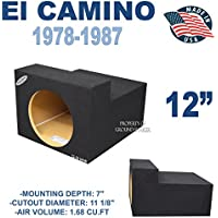 1978-87 Chevy El Camino 12 Sub Box Subwoofer Enclosure
