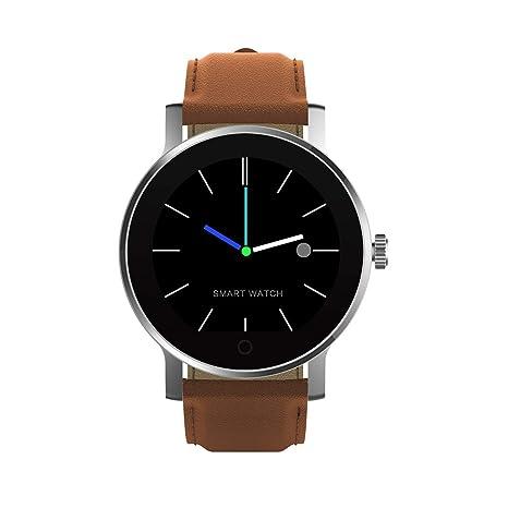 DIGGRO K88H - Smartwatch mit Herzfrequenz Sensor (Uhr, Bluetooth Telefon, IP54 Wasserdicht Staubdicht, Pulsmesser Schrittzähl