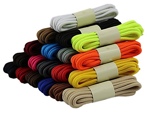 10 Pairs Athletic Shoelaces,Good Replacement shoe laces for - Kids Basketball Boots