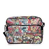 BB Designs Marvel Black Messenger Bag