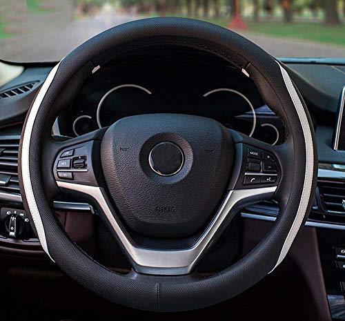 DuoDuoBling 2019 New Cool Microfiber Leather Car Steering Wheel Covers for E90 320i 325i 330i - Hawaiian New Steering Wheel Car