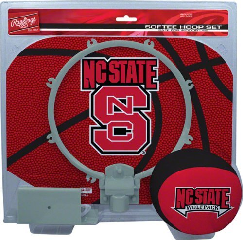 - North Carolina State Wolfpack Slam Dunk Softee Hoop Set