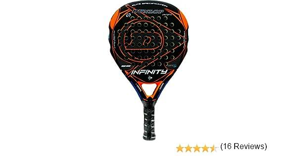 Pala de pádel Dunlop Infinity Orange 2016: Amazon.es: Deportes y ...