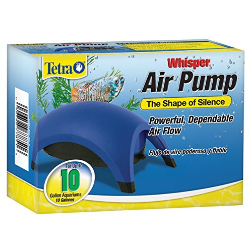 Pond Mini Bubbler - Tetra Whisper Easy to Use Air Pump for Aquariums (Non-UL)