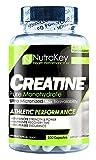 NutraKey Creatine Monohydrate Capsules, 100-Count