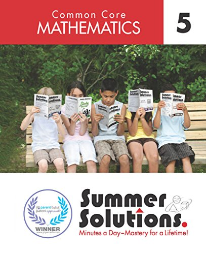 Summer Solutions Common Core Mathematics Level 5 (Chlorine Remover For Swim Suits)