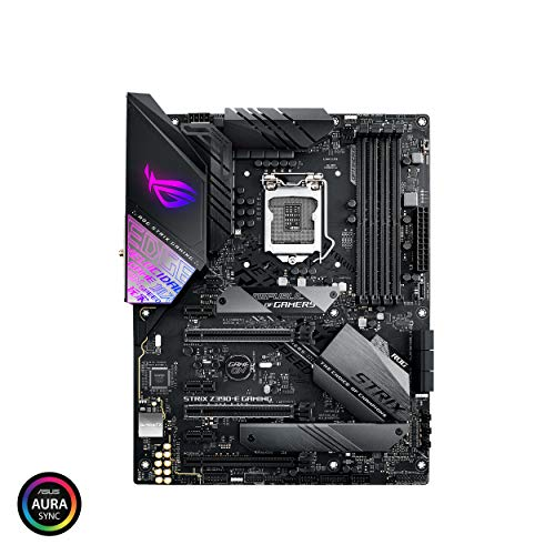 Asus ROG Strix Z390-E Gaming Motherboard LGA1151 (Intel 8th 9th Gen) ATX DDR4 DP HDMI M.2 USB 3.1 Gen2 802.11AC Wi-Fi ()