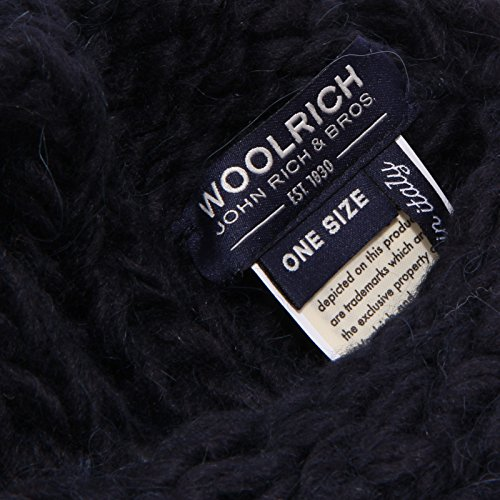 7859w Woman Blu Fascia Headband Cappello Donna Wool Woolrich Blue UgvwxqAqf