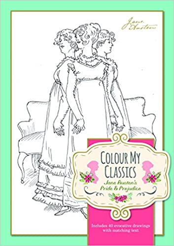 Book Colour My Classics - Jane Austn's Pride and Prejudice