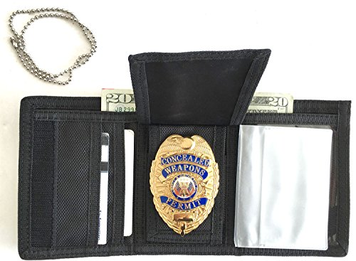 Thing need consider when find police wallet with badge holder?