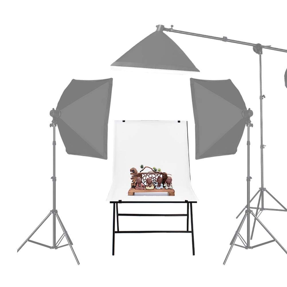 Vbestlife 60100cm Simple Photo Studio,Studio Shooting Table Still Life Shoot Chair Simple Easy Set Up Background Area Large Studio Strong Load-Bearing and Safe by Vbestlife
