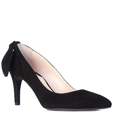 Carven Women's Bow-Back Pump Shoes 902SC103 Black (EU ...