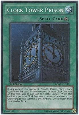 Amazon Com Yu Gi Oh Clock Tower Prison Lcgx En141 Legendary Collection 2 1st Edition Common Toys Games