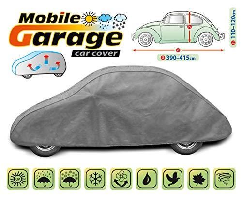 Kegel Blazusiak Mobile Garage volledige garage autodekzeil dekzeil auto dekzeil (390-415 centimeter M Beetle Old)