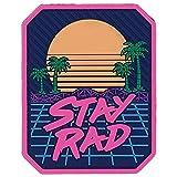 Stay Rad PVC Patch