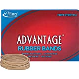 Alliance Rubber Products - Rubber Bands, Size 33, 1 lb., 3-1/2amp;quot;x1/8amp;quot;, Natural - Sold as 1 BX - Good tensile strength of Advantage Rubber Bands reduces breakage. Open-ring design allows up to 50 percent faster application than standard flat