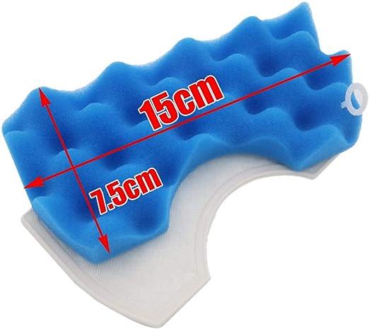 TOOGOO 1 Juego 6Pzs Piezas De Aspiradora Filtros De Motor De Polvo Hepa para Samsung Filtro De Limpiador Dj63-00669A Sc43 Sc44 Sc45 Sc46 Sc47 Serie