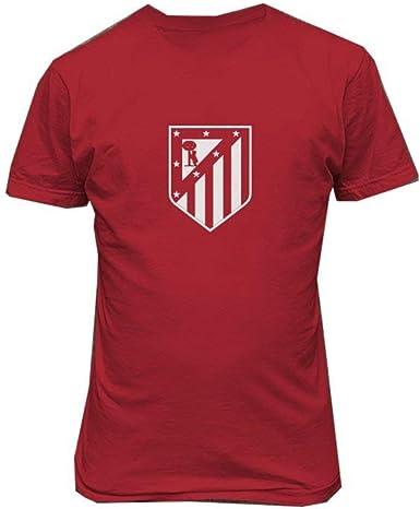 TopVip - Camiseta del Atlético de Madrid, diseño de Camiseta de fútbol - Rojo - XX-Large: Amazon.es: Ropa y accesorios