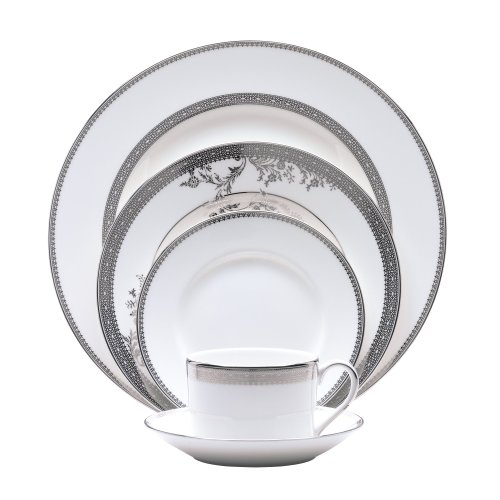 Vera Wang Wedgwood Vera Lace Five-Piece Place Setting (Vera Wang Platinum Lace compare prices)