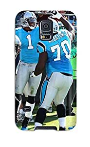 3986888K516100871 carolina panthers NFL Sports & Colleges newest Samsung Galaxy S5 cases