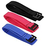 Sharplace Pack of 3 Baby Kid Buggy Stroller Pram Safety Belt Wrist Hand Strap 3 Colors Mixed 50*2.5cm