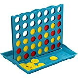 Connect 4 Game, Sacow MIni 4 In A Row Board Game Family Fun Four Chess Game (Multi)