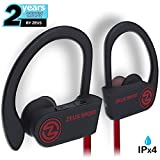 Image of Bluetooth Headphones ZEUS SPORT Best Wireless Headphones Sweatproof Noise Isolating Earbuds with Mic Sports Headphones for Running Workout Earbuds Bluetooth Headset for Gym for Men Women
