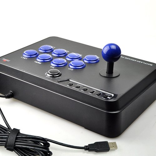 Mayflash F300 Arcade Fight Stick Joystick for PS4 PS3 XBOX ONE XBOX 360 PC Switch NeoGeo mini by May Flash (Image #5)