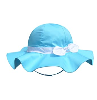 83d7f693c3f Image Unavailable. Image not available for. Color  SNW Kid Baby Summer Hat  Baby Sun ...