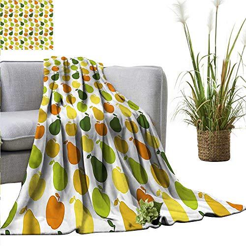 lanket Versatile Usage Fruits for Picnic Apple Pears Fresh Garden 60