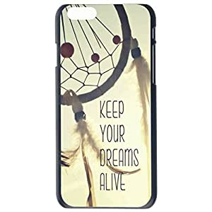 Fashion Dream Catcher Dream Alive Plastic Hard Case Cover Back Skin Protector For Apple iPhone 6G Plus 5.5 by Alexism Size8