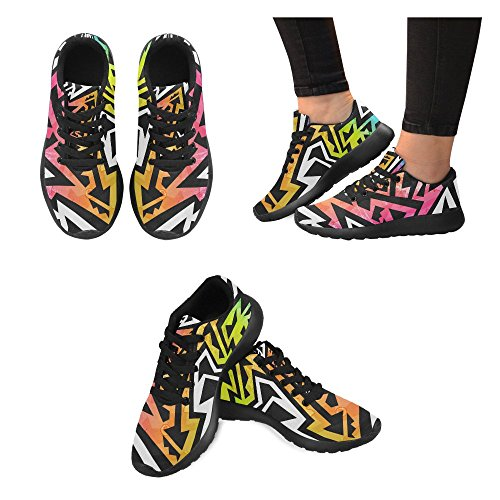 Multi Running Womens 7 Athletic Sneaker Shoes InterestPrint Lightweight Sports Walking Jogging zBxqf7n51