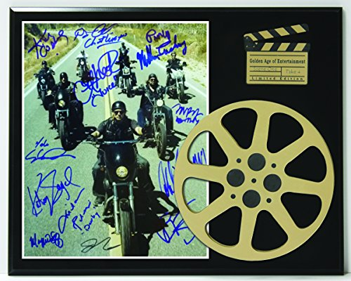 "Sons Of Anarchy Limited Edition Reproduction Autographed Movie Reel Display Gift ""K1"""
