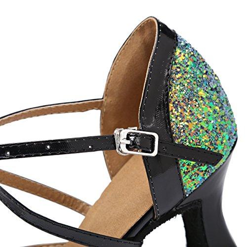femme Salle bal Miyoopark 7cm Green Heel de wtgnzq1zv