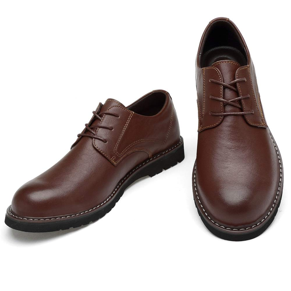 GoldT1 Herrenmode Oxford Lässige Komfortable Runde Runde Runde Kappe Klassische Einfarbig Formale Schuhe Männer Formelle Klassische Komfortable Business Schuhe  b75826