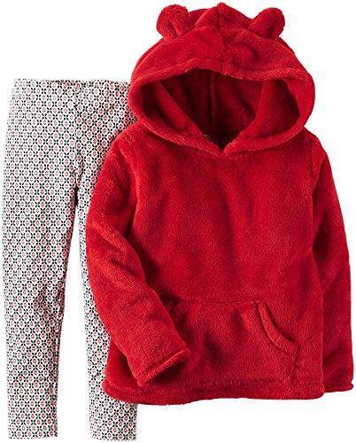Carter's Baby Girls 2 Pc Playwear Sets 239g246, Red, 9M