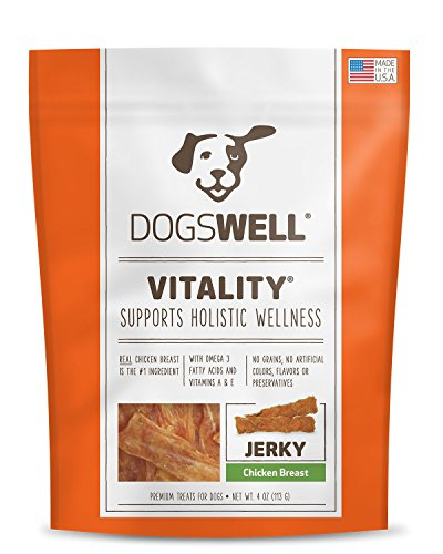 Dogswell Vitality Jerky Chicken Breast (1 Pack), 4 Oz