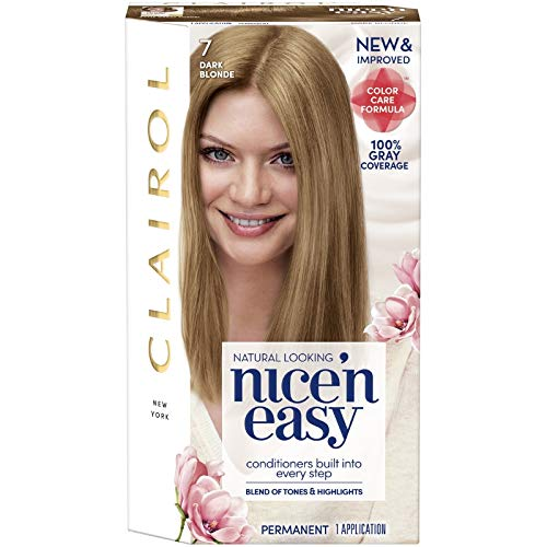 Clairol Nice'N Easy Original 7 Dark Blonde (Pack of 3)