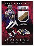 2018 Panini Origins Red #17 Lamar Jackson 3 Color
