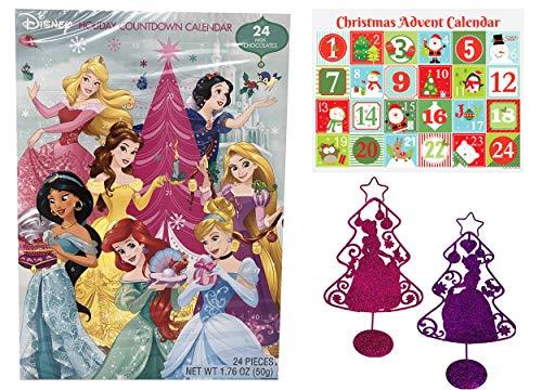 Calendario de Adviento de día festivo Chocolates para Navidad, 24 días de chocolate hasta Navidad, cuenta atrás,...