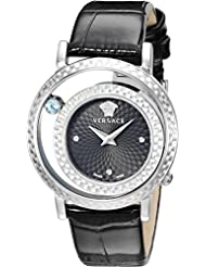 Versace Womens VDA010014 Venus Stainless Steel and Topaz Watch