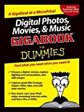 img - for Digital Photos, Movies, and Music Gigabook  For Dummies by Mark L. Chambers (2004-09-03) book / textbook / text book