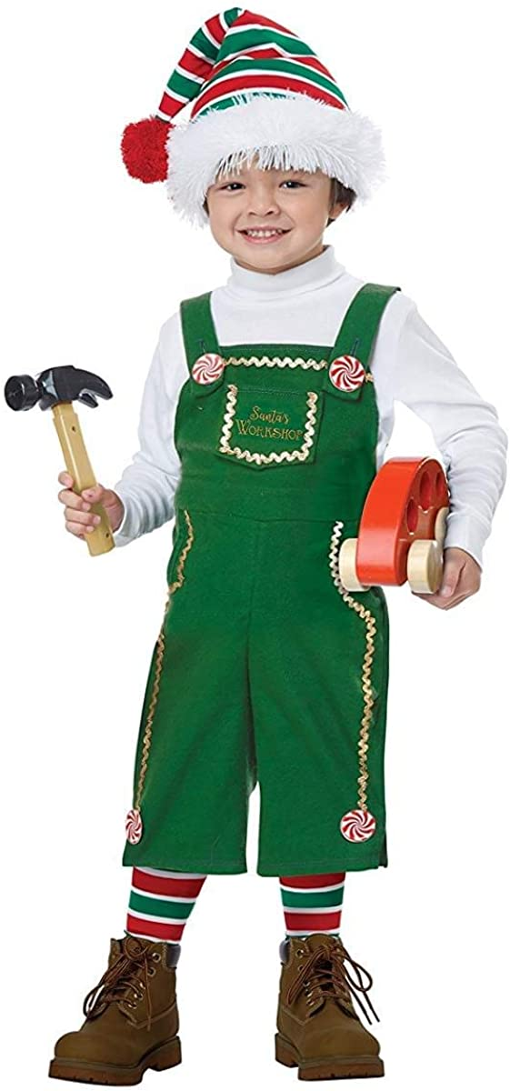 California Costumes Jolly Lil Elf Toddler Costume