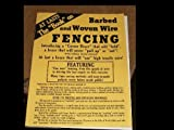 img - for Barbed and Woven Wire Fencing book / textbook / text book
