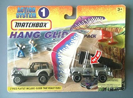 MATCHBOX 1996 Action System Playset #1 - Hang Glider Pack (7 piece playset) by Tyco Toys Inc: Amazon.es: Juguetes y juegos