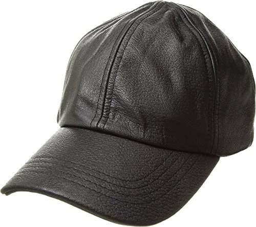 UGG Women's Leather Baseball Hat Black Multi One Size by UGG