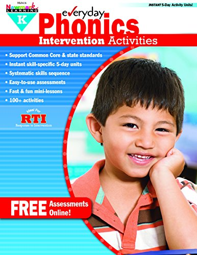 - Everyday Intervention Activities for Phonics Grade K (Eia)
