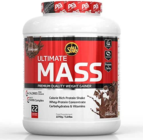 All Stars - Ultimate Mass Gain 2270g Dose Schokolade (2er Pack)
