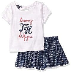 Tommy Hilfiger Girls' 2 Pieces Shorts Se...