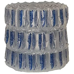 330 Count 4x8 airDEFENDER Air Pillows 40 Gallons 5.33 Cubic Feet Void Fill Cushioning For Packing Packaging Shipping From Discount Air Pillows
